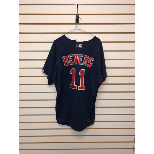 Photo of Rafael Devers Team-Issued Road Batting Practice Jersey