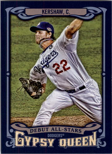 Photo of 2014 Topps Gypsy Queen Debut All Stars #ASCK Clayton Kershaw