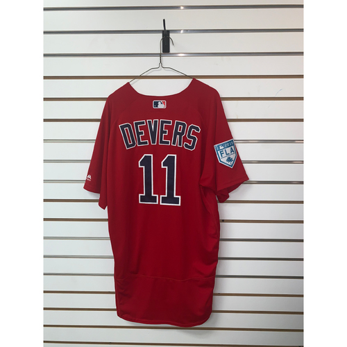 Photo of Rafael Devers Team-Issued 2019 Spring Training Jersey