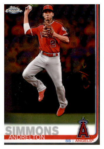 Photo of 2019 Topps Chrome #4 Andrelton Simmons