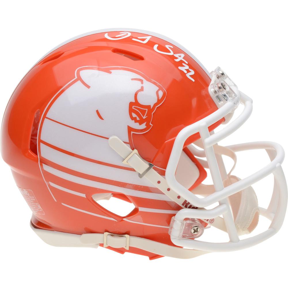 Daniel Sedin Vancouver Canucks Autographed BC Lions CFL Mini Helmet