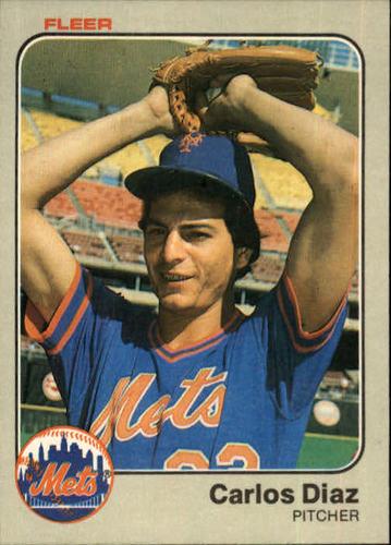 Photo of 1983 Fleer #540 Carlos Diaz RC