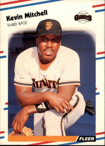 Photo of 1988 Fleer #92 Kevin Mitchell