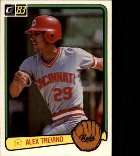 Photo of 1983 Donruss #374 Alex Trevino