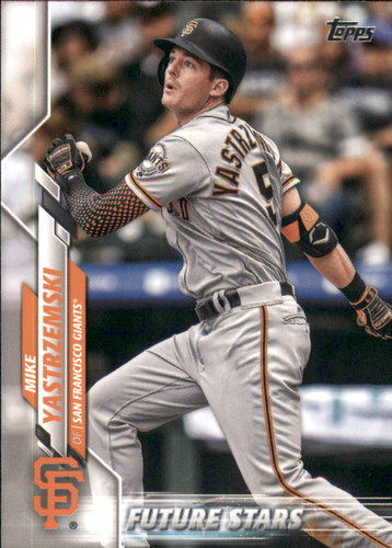 Photo of 2020 Topps #297 Mike Yastrzemski FS