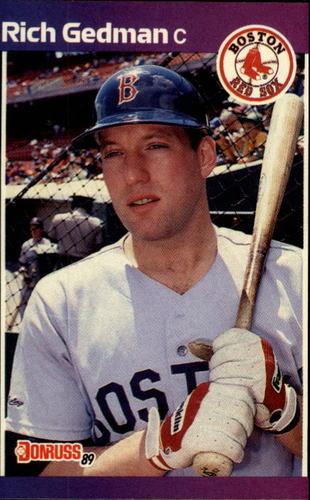 Photo of 1989 Donruss #162 Rich Gedman