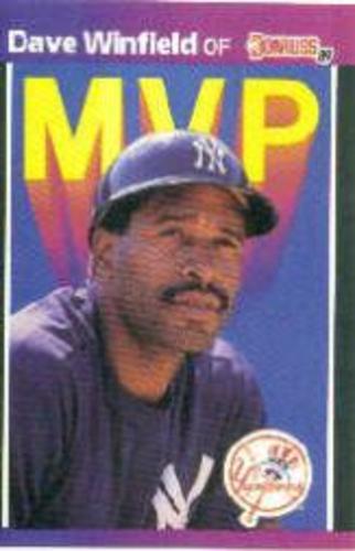 Photo of 1989 Donruss Bonus MVP's #BC11 Dave Winfield