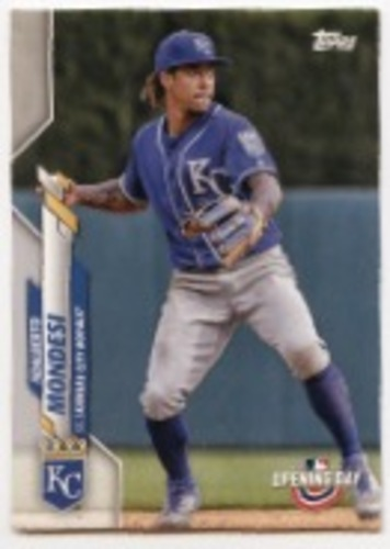 Photo of 2020 Topps Opening Day #54 Adalberto Mondesi