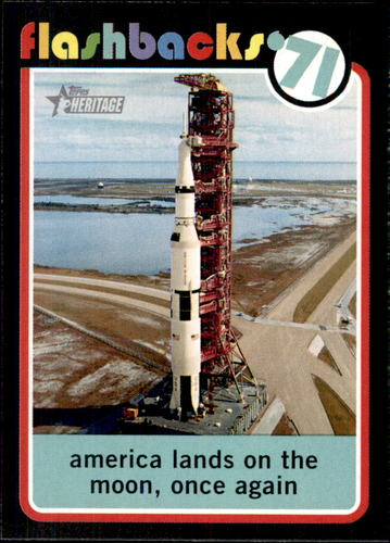 Photo of 2020 Topps Heritage News Flashbacks #NF7 Apollo 14 launches