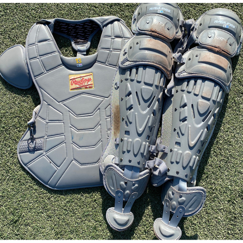 Photo of Team-Issued Catchers Gear: Salvador Perez (STL @ KC 9/22/20)
