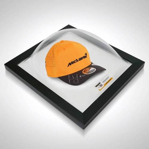 Photo of Carlos Sainz Jr 2020 Signed Framed Team Cap