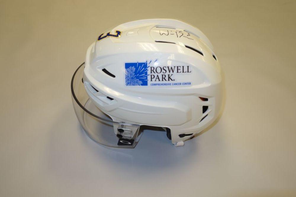 William Borgen 2020-21 Autographed Game-Used Helmet