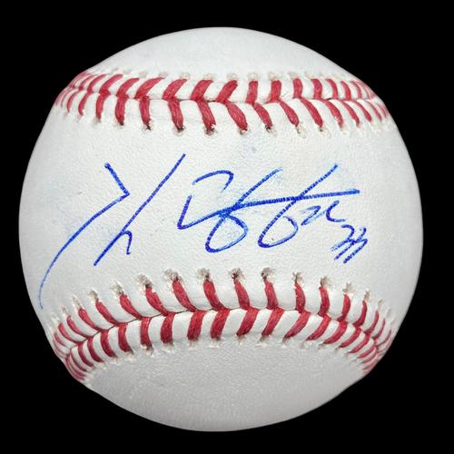 Photo of Kwang Hyun Kim Autographed Baseball