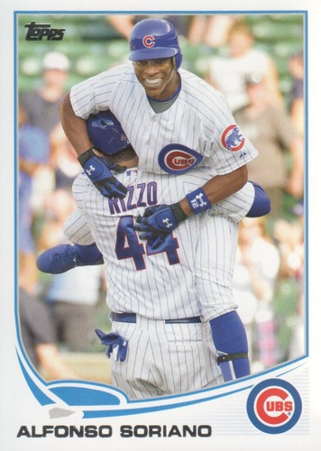 Photo of 2013 Topps #584 Alfonso Soriano