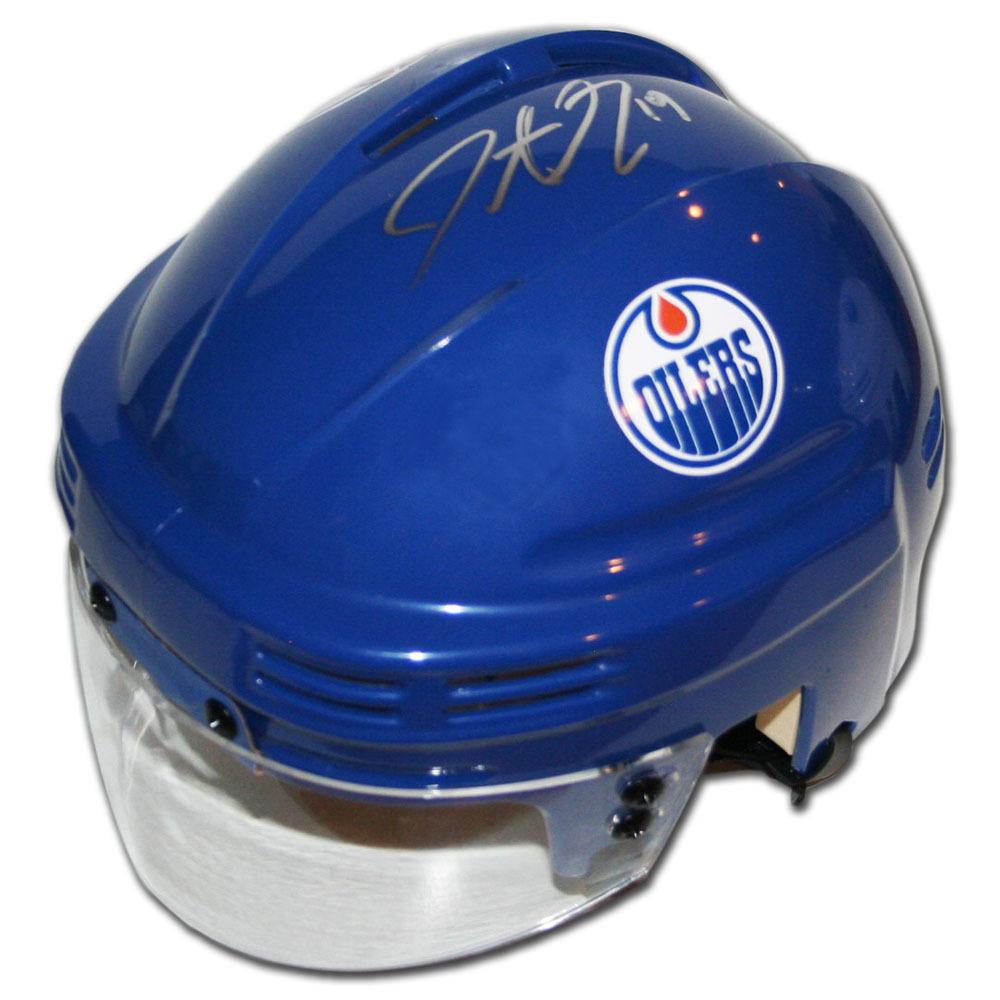 Justin Schultz Autographed Edmonton Oilers Mini-Helmet (Pittsburgh Penguins)