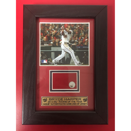 Photo of Bryce Harper Jersey Frame
