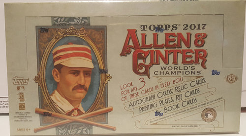 Photo of 2017 Topps Allen & Ginter Baseball