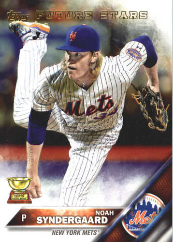 Photo of 2017 Topps Update All Rookie Cup #ARC30 Noah Syndergaard -- REPRINT