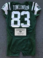 New York Jets - 2016 #83 Eric Tomlinson Game Worn Jersey