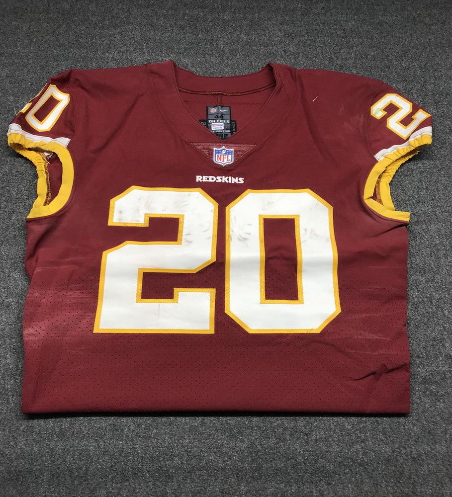 timeless design 6e093 f1d8d NFL Auction | STS - REDSKINS ROB KELLY GAME WORN REDSKINS ...
