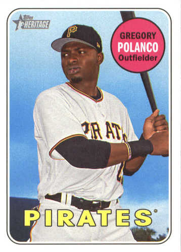 Photo of 2018 Topps Heritage #44 Gregory Polanco