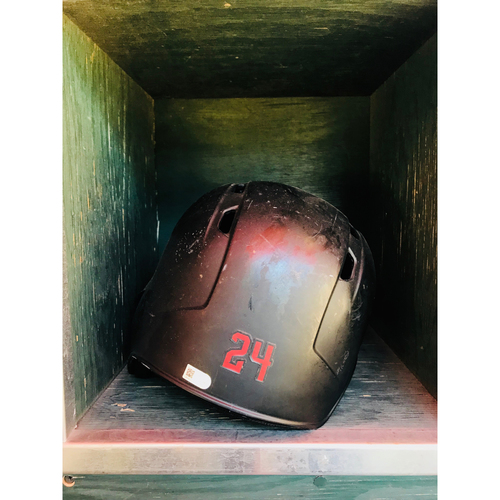 Photo of 2017 #24 Team-Issued Batting Helmet