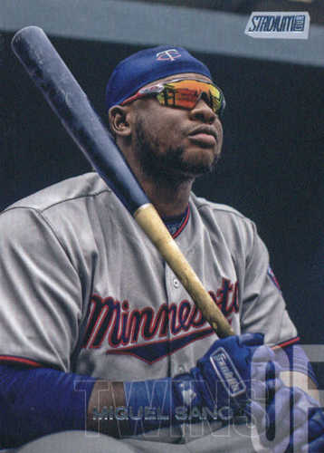Photo of 2018 Stadium Club #97 Miguel Sano