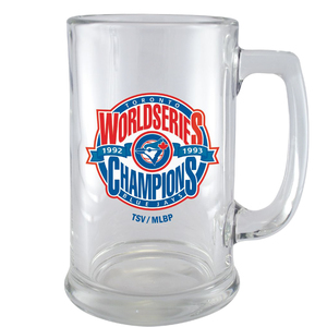 Toronto Blue Jays Back 2 Back World Series Champions Stein by The Sports Vault.