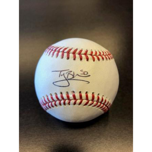 Photo of Giants End of Season Auction: Ty Blach Autographed Baseball