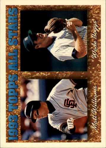 Photo of 1994 Topps #386 W.Boggs/M.Williams AS