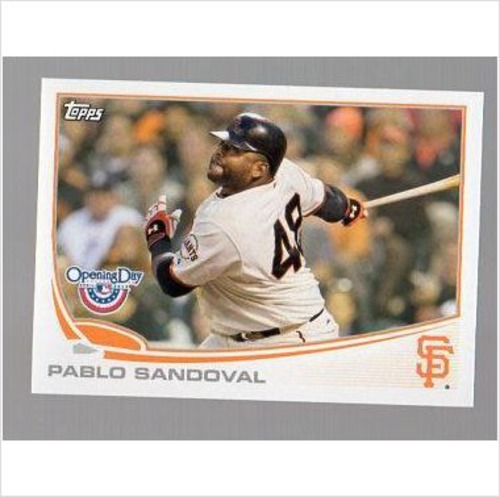 Photo of 2013 Topps Opening Day #212A Pablo Sandoval