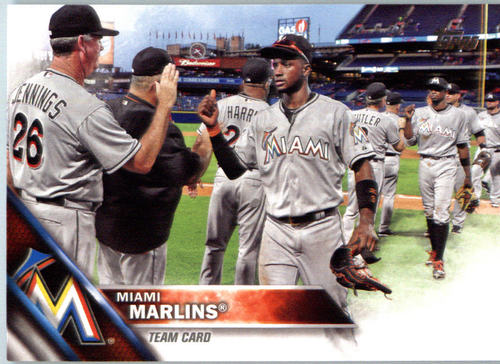 Photo of 2016 Topps #404 Miami Marlins
