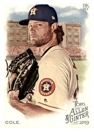 Photo of 2019 Topps Allen and Ginter #27 Gerrit Cole