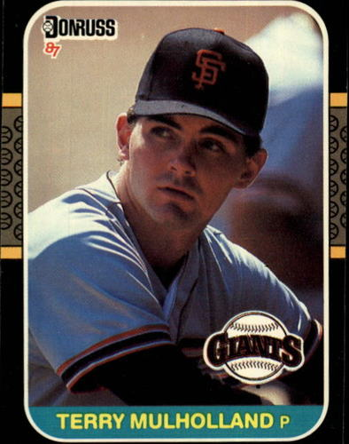 Photo of 1987 Donruss #515 Terry Mulholland RC