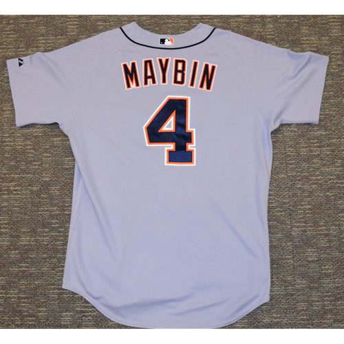Cameron Maybin Detroit Tigers #4 Road Jersey (NOT MLB AUTHENTICATED)