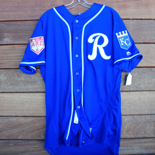 Photo of Game-Used Jersey: Scott Blewett (Size 48 - KC vs COL - 2/25/19)