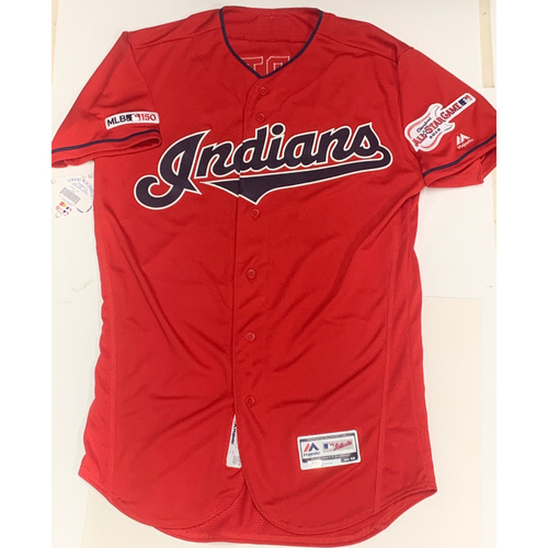 Photo of Leonys Martin Team Issued 2019 Alternate Home Jersey