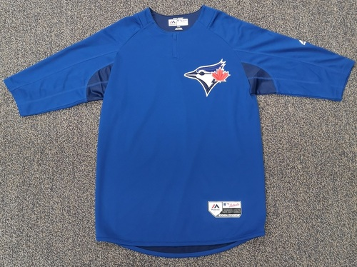 Photo of Authenticated Team Issued Blue BP 2019 Jersey - - Choose your size!