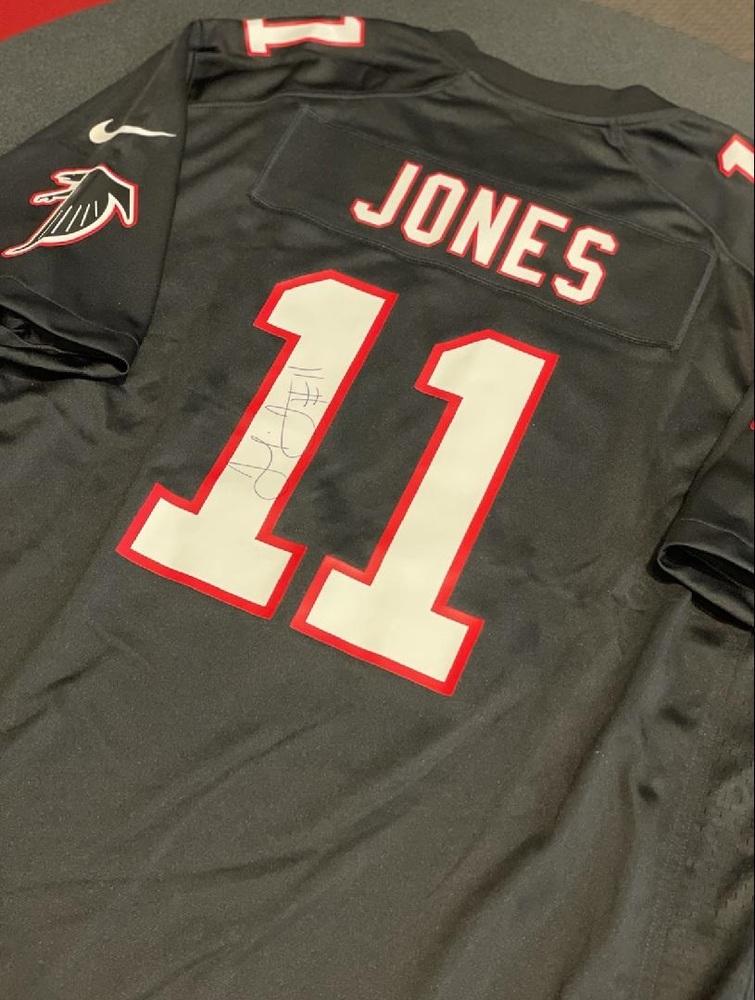 Julio Jones Autographed Authentic Atlanta Falcons Jersey - Benefiting Warrick Dunn Charities