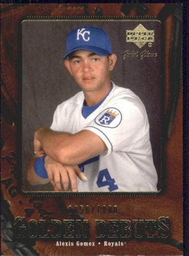 Photo of 2001 Upper Deck Gold Glove #117 Alexis Gomez GD RC