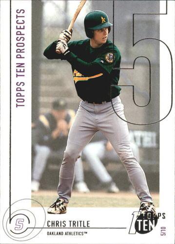 Photo of 2002 Topps Ten #195 Chris Tritle PROS RC