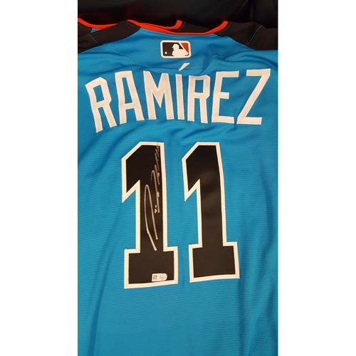 Jose Ramirez 2017 Major League Baseball Workout Day/Home Run Derby Autographed Jersey