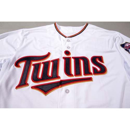 Photo of Lewis Thorpe Autographed TwinsFest Jersey