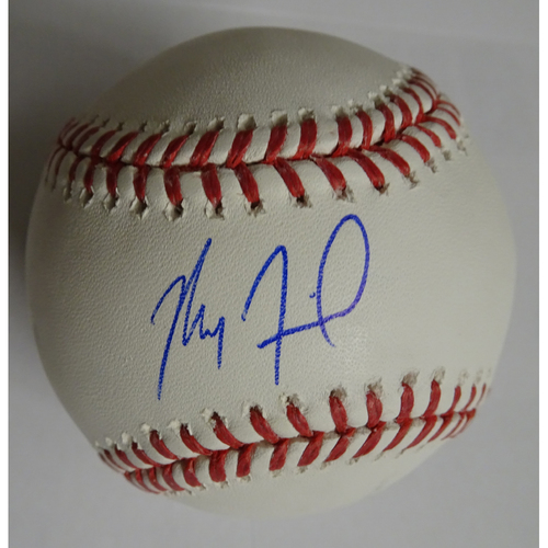 Photo of Max Fried Autographed Baseball