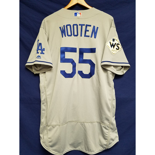 Photo of Shawn Wooten 2017 Road World Series Team-Issued Jersey