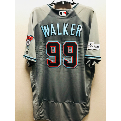 2017 Team-Issued Taijuan Walker Jersey