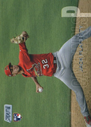 Photo of 2018 Stadium Club #101 Jack Flaherty RC