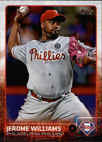 Photo of 2015 Topps #560 Jerome Williams