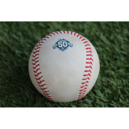 Photo of Game-Used Baseball: Joey Rickard 169th Career Hit (BAL @ KC - 9/2/18)