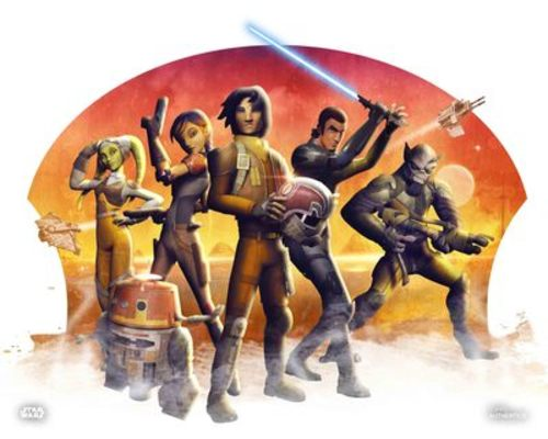 Kanan Jarrus, Ezra Bridger, Hera Syndulla, Sabine Wren, Zeb Orrelios and Chopper
